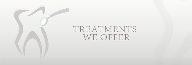Treatments We Offer